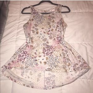 Size Small Floral LC Babydoll Tank